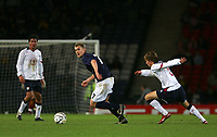 Photo: Andrew Unwin.<br /> Scotland v USA. International Challenge. 12/11/2005.<br /> Scotland's Darren Fletcher (C).