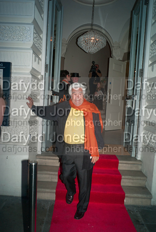 ANTONIO CARLUCCIO, Launch party for the publication of Antonio Carluccio's memoirs, A Recipe for Life, . Carluccio's in Covent Garden Garrick St. London.  26 September 2012
