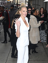 Celebs at the Michael Kors show in New York. 13 Feb 2019 Pictured: Molly Sims. Photo credit: MEGA TheMegaAgency.com +1 888 505 6342
