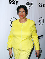 Aretha Franklin poses before speaking as the 92nd Street Y Presents Aretha Franklin and Clive Davis in Conversation in New York City, NY, USA, on September 30, 2014. Photo by Donna Ward/ABACAPRESS.COM