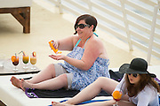 EXCLUSIVE - White Dee Holidays in Magaluf<br />