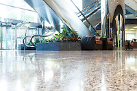 Commercial stock photography of Devon Place (formerly Canterra Tower) in Calgary. Images designed to highlight the stonework of the interior and exterior floors and walls of the building. The granite and other stone was provided by LUNDHS AS of Norway...©2012, Sean Phillips.http://www.RiverwoodPhotography.com