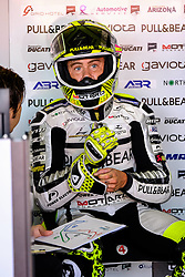 September 7, 2017 - Misano Adriatico, Italy - 19 ALVARO BAUTISTA (Spain), Pull&Bear Aspar Ducati Team, Ducati Desmosedici GP16 machine, Gran Premio Tribul Mastercard di San Marino e della Riviera di Rimini, BOX during the MotoGP FP1 at the Marco Simoncelli World Circuit for the 13th round of MotoGP World Championship, from September 8th to 10th 2017 at Misano Adriatico (RSM) (Credit Image: © Felice Monteleone/NurPhoto via ZUMA Press)