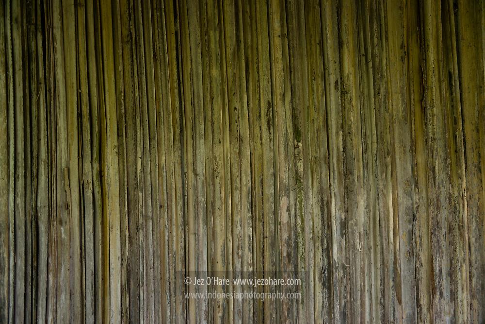 Dinding gewang, Kerajaan Boti, Kabupaten Timor Tengah Selatan, Pulau Timor, Nusa Tenggara Timur, Indonesia