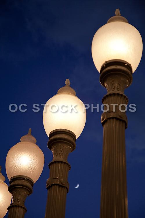 Urban Light Sculpture Closeup