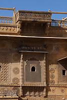 Raj Mahal royal palace of jaisalmer in rajasthan state in india