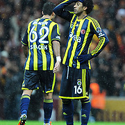 Fenerbahce's Cristian Oliveira Baroni during their Turkish superleague soccer derby match Galatasaray between Fenerbahce at the TT Arena in Istanbul Turkey on Friday, 18 March 2011. Photo by TURKPIX