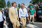 Koning Willem Alexander aanwezig bij Tour de France / King Willem Alexander attends Tour de France<br /> <br /> Op de foto / On the photo: