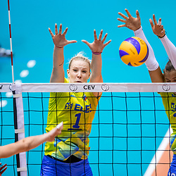 20170824: NED, Volleyball - 2018 FIVB Women World Championship Qual., Belgium vs Slovenia