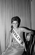 Rose of Tralee Ball at the Gresham Hotel. The Dublin Rose, Rosaleen Kelleher from Raheny..26.04.1967
