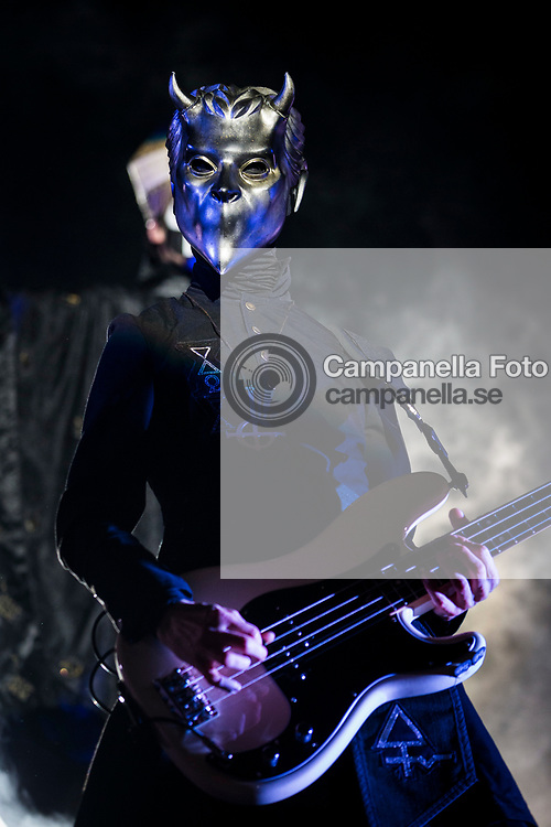 STOCKHOLM, SWEDEN - SEPTEMBER 29: Nameless Ghoul of the Swedish heavy metal band Ghost performs in concert at Grona Lund on September 29, 2017 in Stockholm, Sweden. (Photo by MICHAEL CAMPANELLA/Redferns)