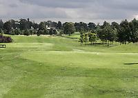 STAFFAN (Ierland) - K CLUB bij Dublin, de golfbaan waar in 2006 de Ryder Cub wordt gespeeld. Hole 15.
