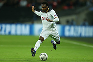 Danny Rose of Tottenham Hotspur in action. UEFA Champions league match, group E, Tottenham Hotspur v CSKA Moscow at Wembley Stadium in London on Wednesday 7th December 2016.<br /> pic by John Patrick Fletcher, Andrew Orchard sports photography.