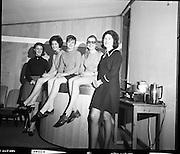 Girls on ESB Training Course.10/03/1970