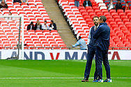 Endgland Interim Head Coach Gareth Southgate during the FIFA World Cup Qualifier match between England and Malta at Wembley Stadium, London, England on 8 October 2016. Photo by Andy Walter.