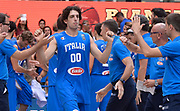 DESCRIZIONE : Trento Nazionale Italia Uomini Trentino Basket Cup Italia Paesi Bassi Italy Netherlands <br /> GIOCATORE : Amedeo Della Valle<br /> CATEGORIA : Pregame before<br /> SQUADRA : Italia Italy<br /> EVENTO : Trentino Basket Cup<br /> GARA : Italia Paesi Bassi Italy Netherlands<br /> DATA : 30/07/2015<br /> SPORT : Pallacanestro<br /> AUTORE : Agenzia Ciamillo-Castoria/R.Morgano<br /> Galleria : FIP Nazionali 2015<br /> Fotonotizia : Trento Nazionale Italia Uomini Trentino Basket Cup Italia Paesi Bassi Italy Netherlands