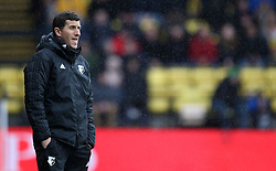 Watford manager Javi Gracia during the Premier League match at Vicarage Road, Watford.
