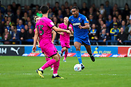 AFC Wimbledon defender Terell Thomas (6) dribbling during the EFL Sky Bet League 1 match between AFC Wimbledon and Rochdale at the Cherry Red Records Stadium, Kingston, England on 5 October 2019.
