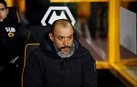 Football - 2019 / 2020 UEFA Europa League - Round of Thirty-Two, First Leg: Wolverhampton Wanderers vs. Espanyol<br /> <br /> Wolverhampton Wanderers manager Nuno Espirito Santo at Molineux.<br /> <br /> COLORSPORT/LYNNE CAMERON