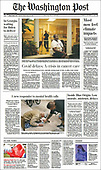 October 12, 2021 - USA: Front-page: Today's Newspapers In United States