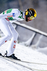 February 8, 2019 - Lahti, Finland - Manuel Fettner competes during FIS Ski Jumping World Cup Large Hill Individual Qualification at Lahti Ski Games in Lahti, Finland on 8 February 2019. (Credit Image: © Antti Yrjonen/NurPhoto via ZUMA Press)