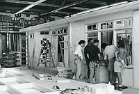 1987 Set builders at Hollywood Center Studios