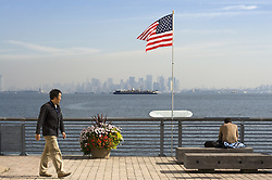 Feb. 27, 2014 - New York, United States of America - Staten Island September 11 Memorial. Waterfront Esplanade. Designed by Msayuki Sono, this memorial pays tribute to 270 people from Staten Island who died in the attack on the twin towers. This is a place to think and reflect with plaques that include the name, place of birth, work and a photo of each of the victims. - September 2013 (Credit Image: © Sergi Reboredo/DPA/ZUMAPRESS.com)