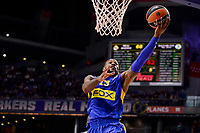 Maccabi Fox's Sonny Weens during Turkish Airlines Euroleague match between Real Madrid and Maccabi at Wizink Center in Madrid, Spain. January 13, 2017. (ALTERPHOTOS/BorjaB.Hojas)