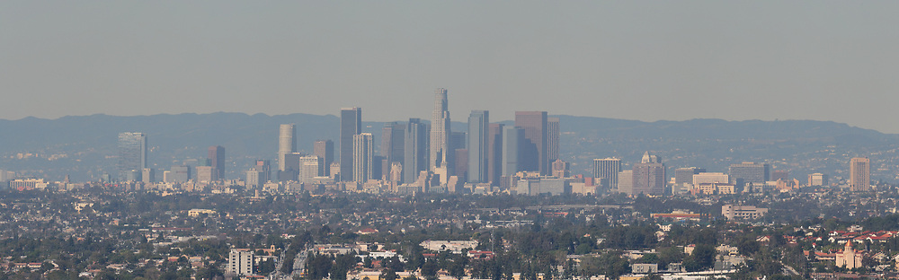 Taken from east LA. <br /> <br /> Panoramic available up to 8440 x 2631 pixels.
