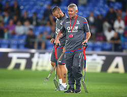 August 22, 2017 - London, England, United Kingdom - Head groundmens for Crystal Palace.during Carabao Cup 2nd Round   match between Crystal Palace and Ipswich Town at Selhurst Park Stadium, London,  England on 22 August 2017. (Credit Image: © Kieran Galvin/NurPhoto via ZUMA Press)