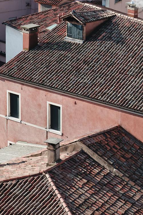 Mestre (VE) - Tetti dalla terrazza del Centro Le Barche