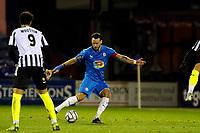 Liam Hogan. Stockport County FC 0-0 Notts County FC. Vanarama National League. Edgeley Park. 23.2.21