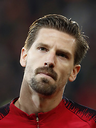Adrien Silva of Portugal during the International friendly match match between Portugal and The Netherlands at Stade de Genève on March 26, 2018 in Geneva, Switzerland