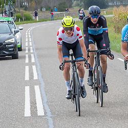 Philippine (NED) CYCLING OCTBER 17<br /> Omloop van de Braakman<br /> Jarno Mobach, Roel van Sintmaartensdijlk en Thijs de Lange