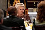De Kaapverdische president Jorge Carlos de Almeida Fonseca is in Nederland voor een tweedaags staatsbezoek.<br /> <br /> The Cape Verdean president Jorge Carlos de Almeida Fonseca is in the Netherlands for a two-day state visit.<br /> <br /> Op de foto On the photo: Staatsbanket met  prinses Beatrix ///// State banquet with princess Beatrix