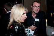 TRACY NESDOLY; ANDREW MORTON, Sir Harold Evans' My Paper Chase Book Launch. The Wapping Project, Wapping Hydraulic Power Station, London, 5 October 2009.