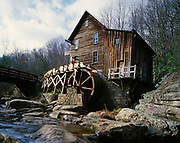 Glade Creek Grist Mill, Babcock State Park, West Virginia.