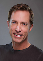 """Company portrait of John Ewing for Missouri Street Theatre's production of """"Once Upon A Mattress."""" Photo by Mike Padua."""