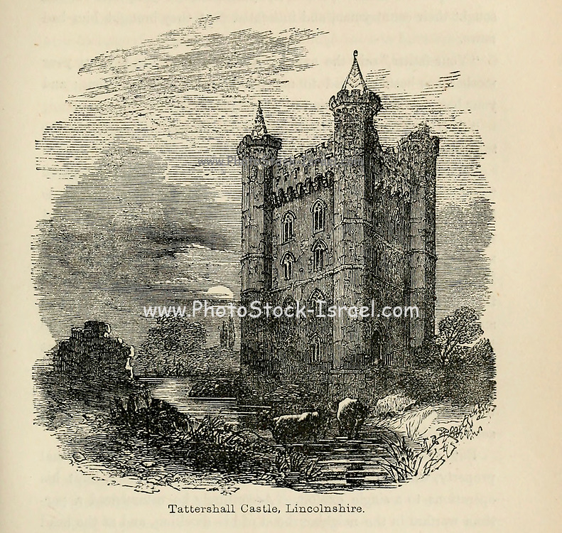 Tattershall Castle, Lincolnshire From the Book 'Danes, Saxons and Normans : or, Stories of our ancestors' by Edgar, J. G. (John George), 1834-1864 Published in London in 1863