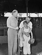 "Ackroyd 00064-3. ""Portland Baseball Club – Boys class. August 19, 1947."" Vaughn St. Stadium, Portland Beavers,"