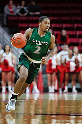 NORMAL, IL - December 16: Kasheem Thomas during a college basketball game between the ISU Redbirds and the Cleveland State Vikings on December 16 2018 at Redbird Arena in Normal, IL. (Photo by Alan Look)