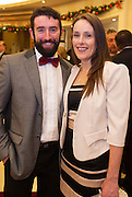 Ronan Grehan and Alacoque Greaney from Oranmore at the Gorta Self Help Africa Annual Ball at the Galway Bay Hotel, Salthill Galway.<br /> Photo:Andrew Downes, xposure.