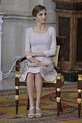 19.06.2015, Madrid, ESP, König Felipe VI und Königin Letizia im Orden del Merito, im Bild Queen Letizia of Spain // during the Orden del Merito Civil decorations imposition ceremony at Madrid, Spain on 2015/06/19. EXPA Pictures © 2015, PhotoCredit: EXPA/ Alterphotos/ Pool<br /> <br /> *****ATTENTION - OUT of ESP, SUI*****