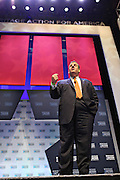 Republican presidential candidate Gov. Chris Christie speaks at the Heritage Foundation Take Back America candidate forum September 18, 2015 in Greenville, South Carolina.