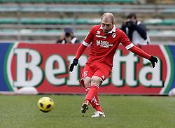 Bari (BA), 23-01-2011 ITALY - Italian Soccer Championship Day 21 - Bari VS Napoli..Pictured: Masiello (B)..Photo by Giovanni Marino/OTNPhotos . Obligatory Credit
