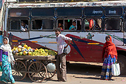 Selling fruit on the steet of Seoni, Madhya Pradesh, india.