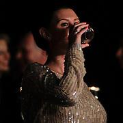 NLD/Hilversum/20120205 - Concert tbv Stichting DON, Danielle Frederiks - van Aalderen