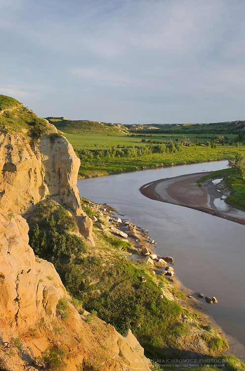 Little Missouri River, Theodore Rossevelt National Park, North Dakota