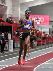 American Track League<br /> ESPN Indoor #2 track and field meet<br /> Shaune Miller-Uibo, Bahamas, adidas