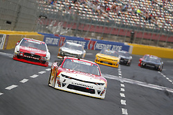 May 26, 2018 - Concord, North Carolina, United States of America - Michael Annett (5) brings his race car down the front stretch during the Alsco 300 at Charlotte Motor Speedway in Concord, North Carolina. (Credit Image: © Chris Owens Asp Inc/ASP via ZUMA Wire)